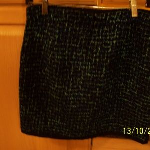 J CREW WOOL BLEND MULTI COLORED SKIRT 2